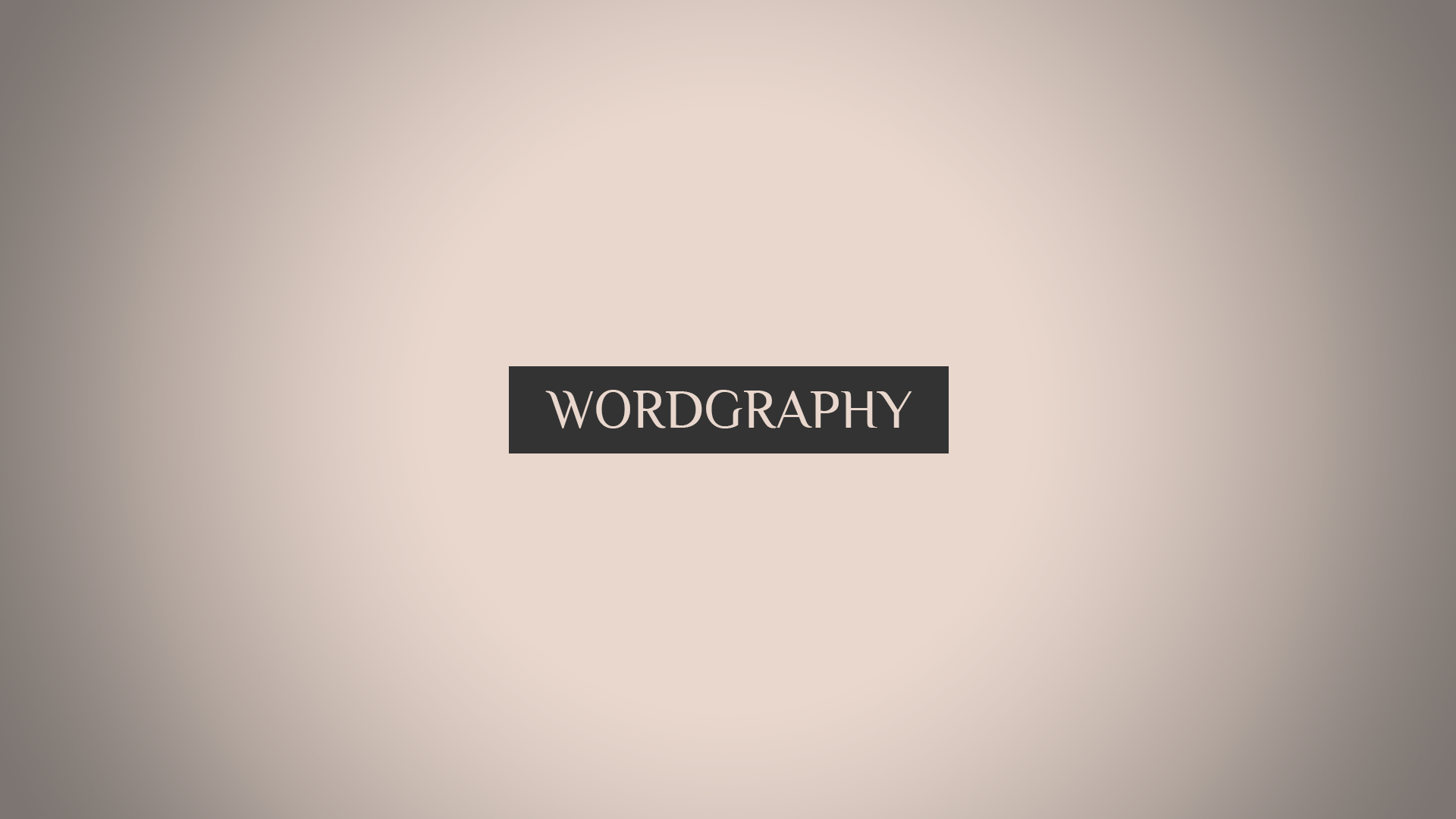 Wordgraphy