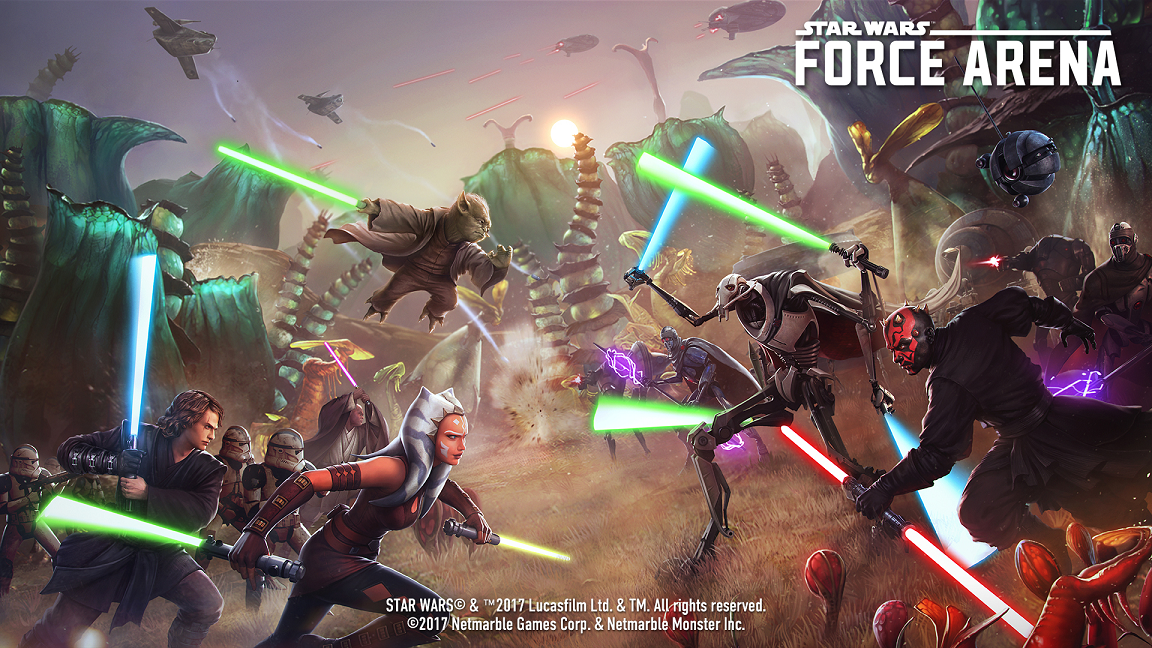 Netmarble - Star Wars Force Arena