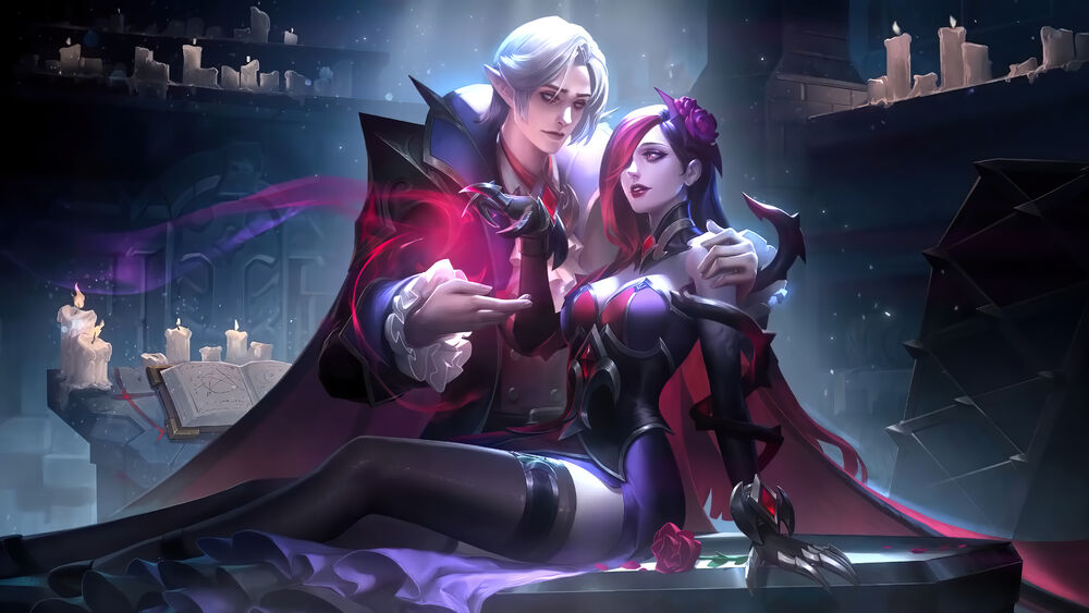 Mobile Legends Cecillion Karakteri ve Carmilla