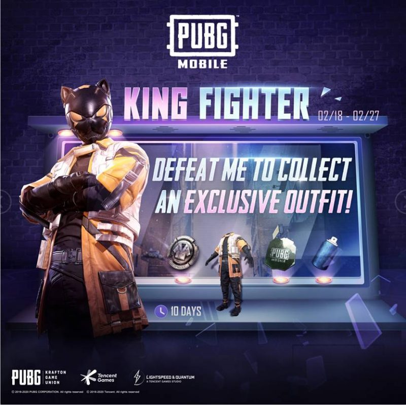 PUBG Mobile King Fighter