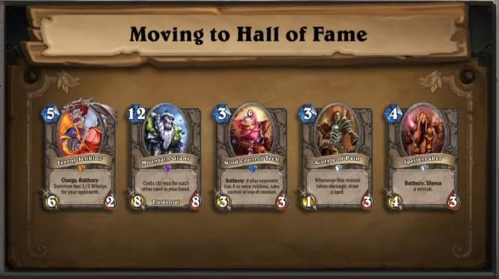 Hearthstone Hall of Fame