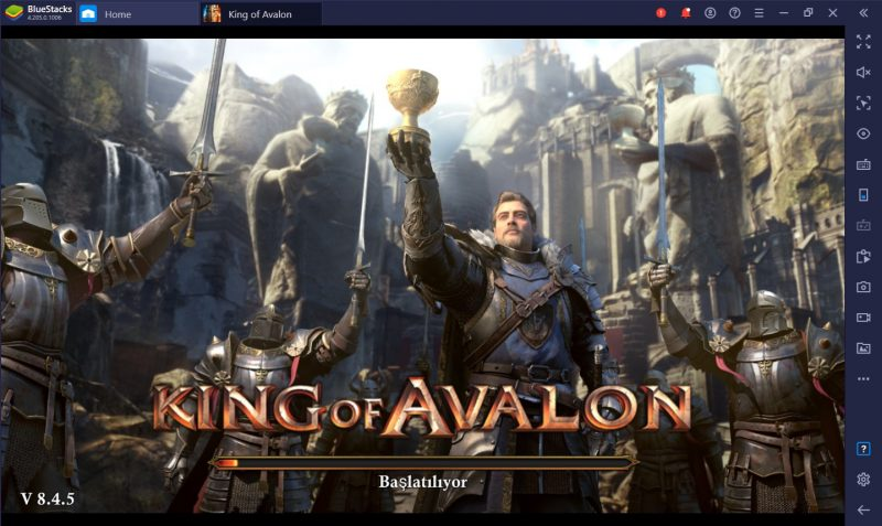 King of Avalon BlueStacks