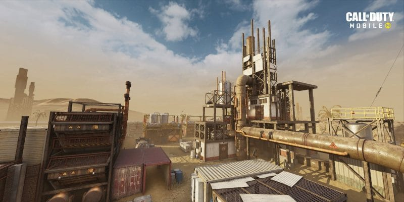 call of duty mobile rust haritası stratejiler