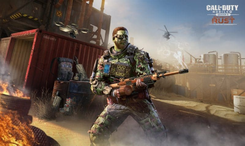 call of duty mobile rust haritası uzman strateji