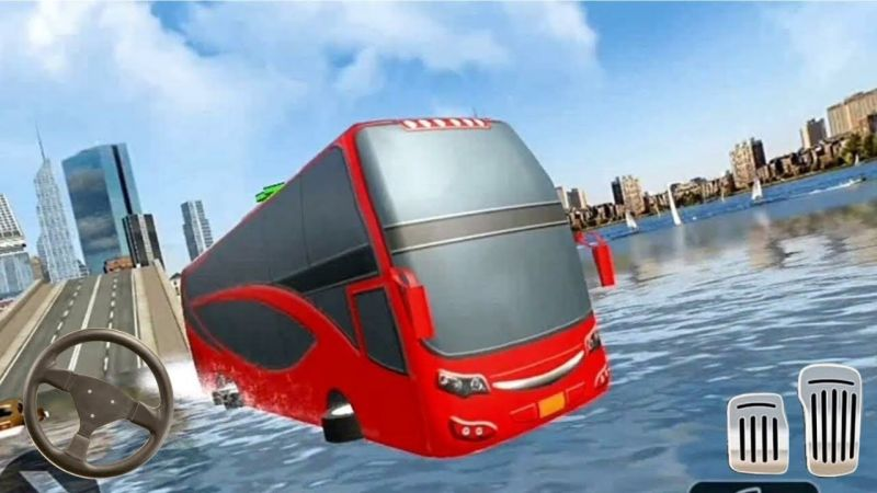 Sea Bus Driving