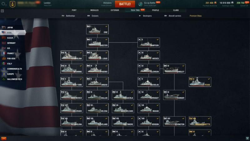 World of Warships Gemileri