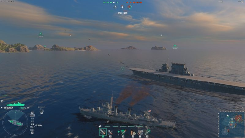 World of Warships saldırı