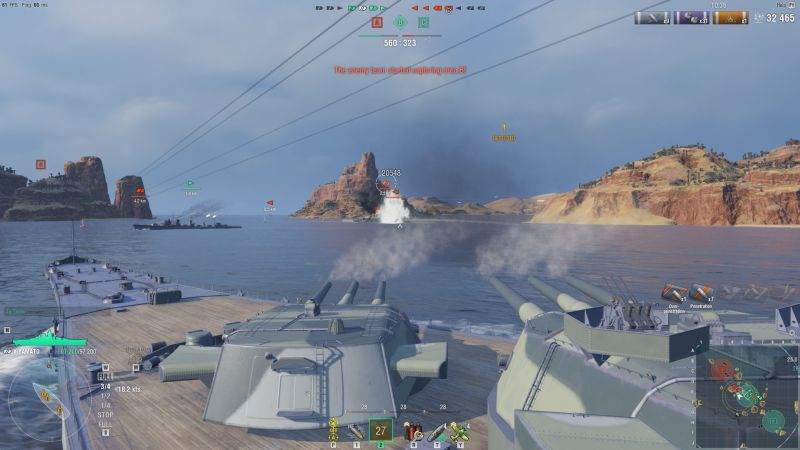 world of warships savaş