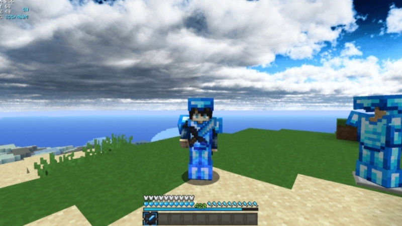 Minecraft Pocket Edition - Icy PvP Pack