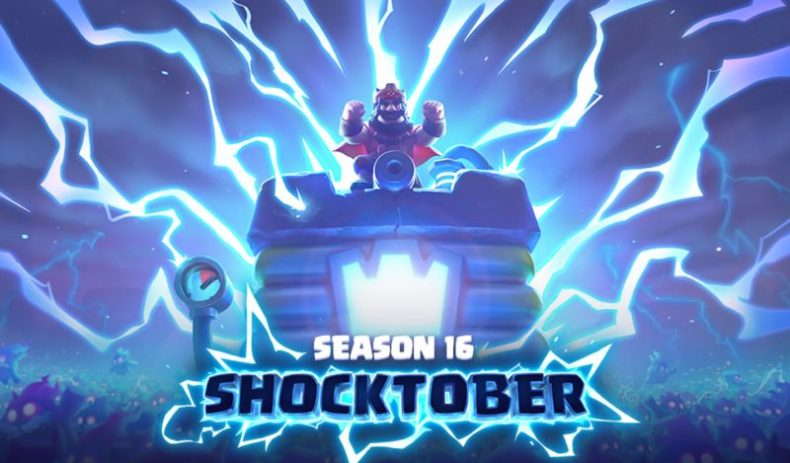 Clash Royale Sezon 16 Shocktober