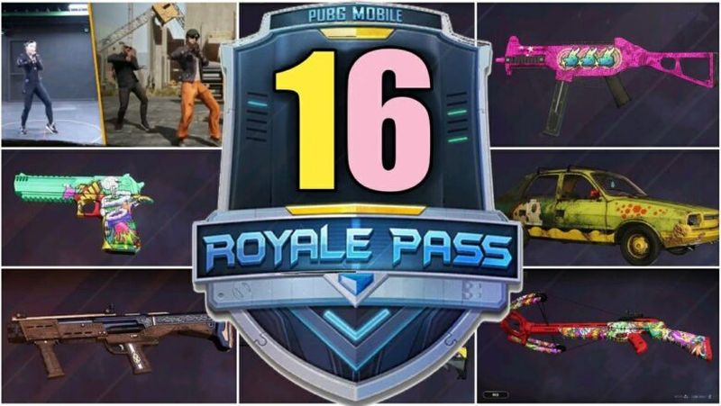 PUBG Mobile Sezon 16 Royale Pass Ödülleri
