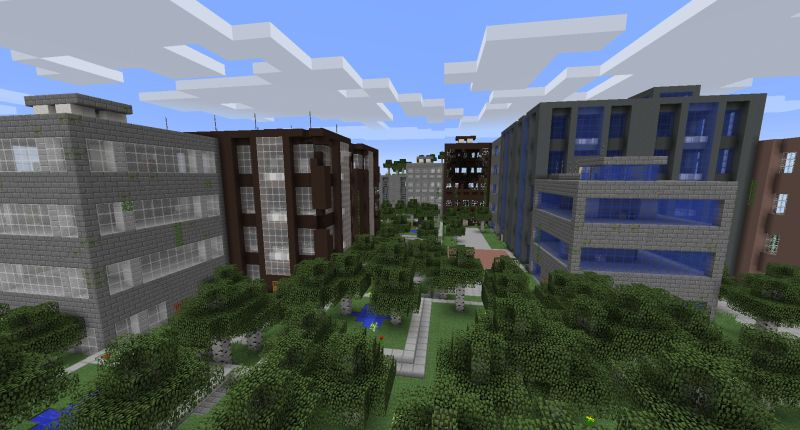 The Lost Cities Minecraft