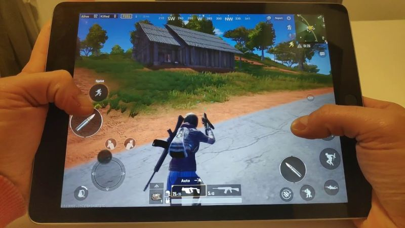 PUBG Mobile iPad view APK