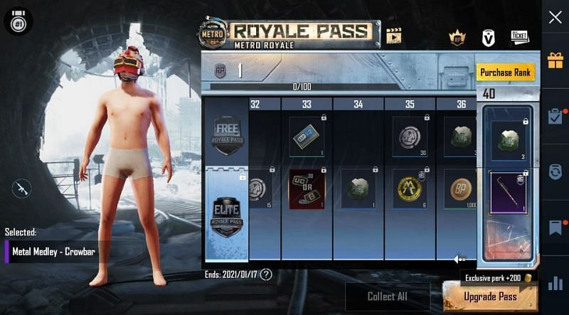 PUBG Mobile sezon 17 royale pass