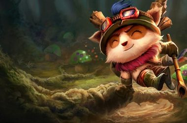 league of legends wild rift'e Teemo geldi.