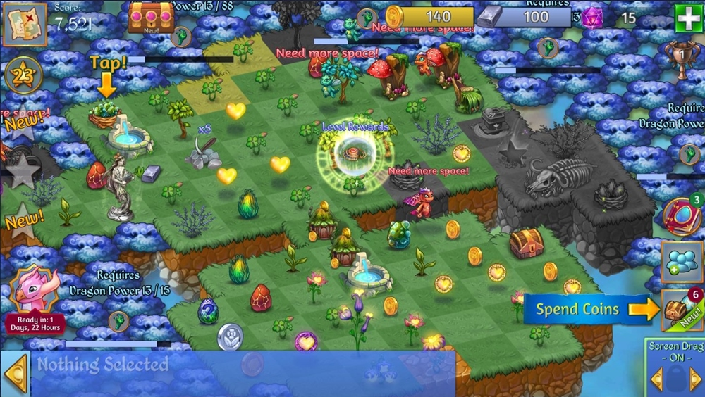 Merge Dragons,Bluestacks