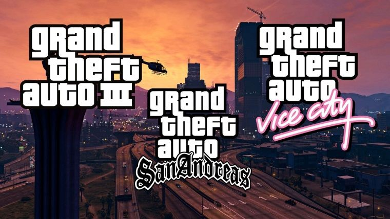 Grand Theft Auto: The Trilogy - Definitive Edition Cover
