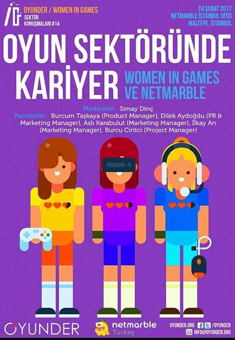 Women in Games - Oyun Sektöründe Kariyer