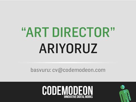 Codemodeon Art Director Arıyor!