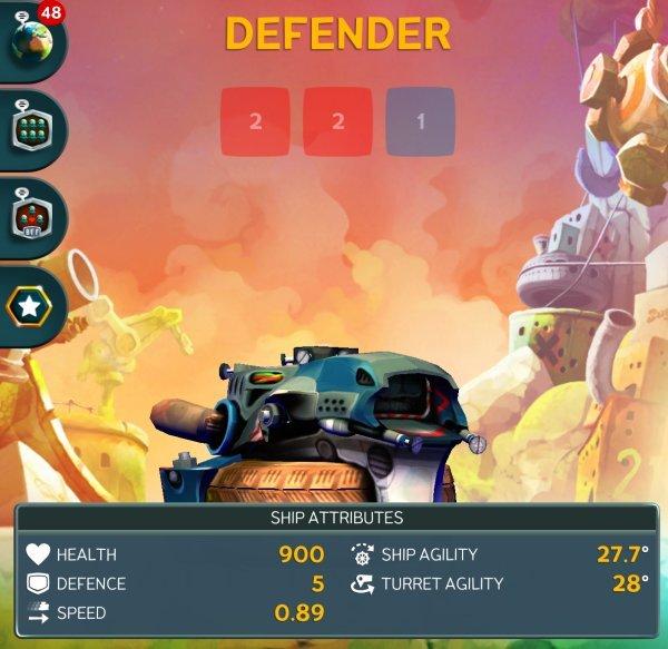 Battle Bay - Defender