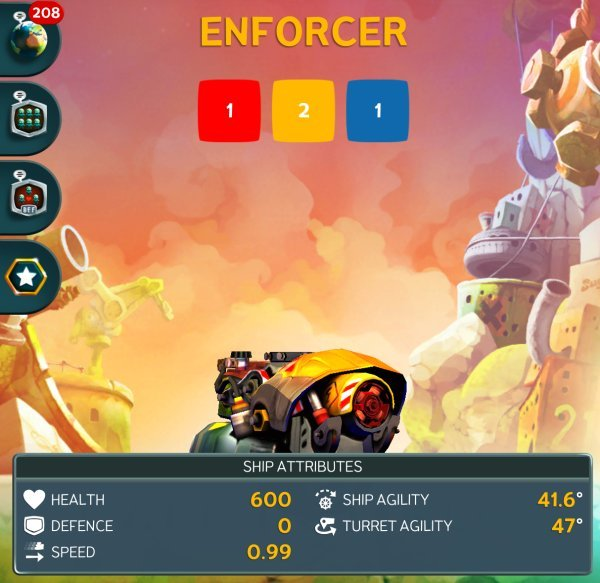 Battle Bay - Enforcer