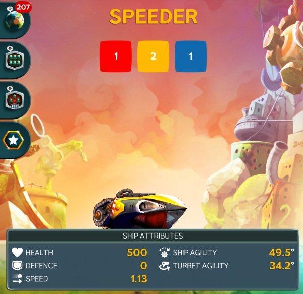 Battle Bay - Speeder