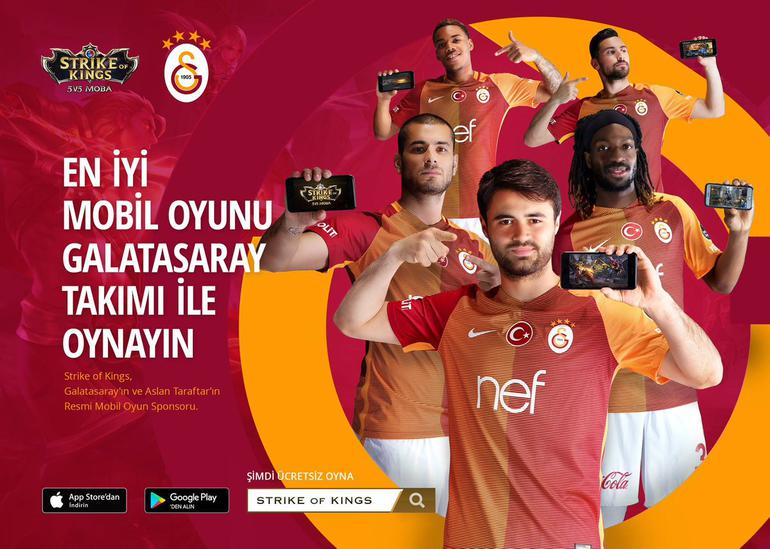 Galatasaray Strike Of King İle Mobil eSpora Dahil Oluyor