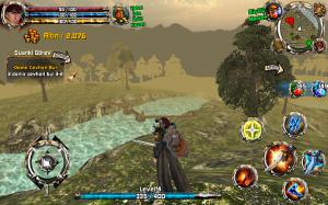 Crimson Warden oyuniçi görüntü