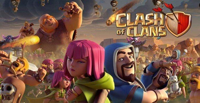 Clash Of Clans 5. Yıldönümünü Kutluyor