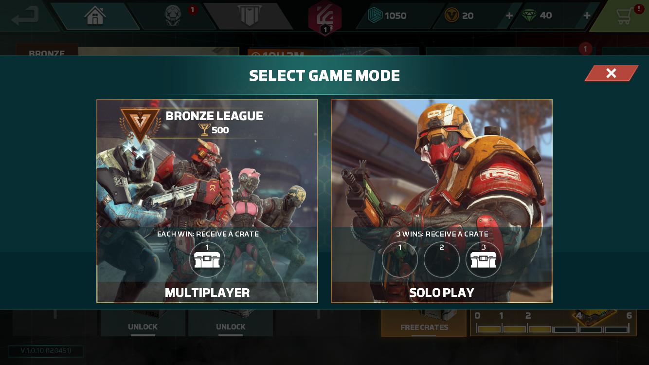 Gameloft Modern Combat Versus