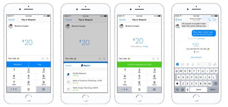 Facebook ve PayPal'dan Messenger