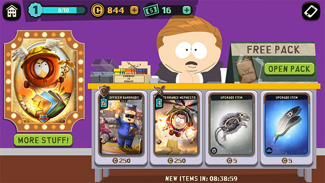 South Park Phone Destroyer Free Card