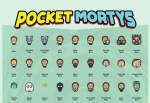 Pocket Mortys Morty list