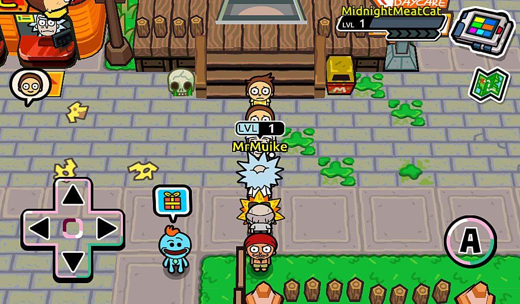 Pocket Mortys in game