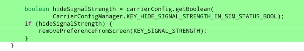 Android Sinyal Gücü