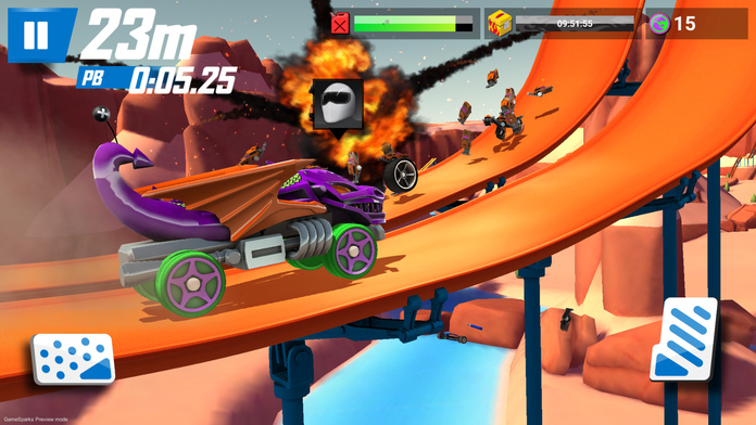 Hot Wheels Race Off In Game