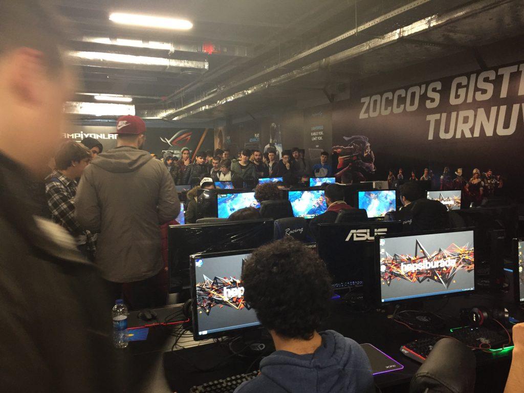 Gaming İstanbul 2018 Turnuva Alanı