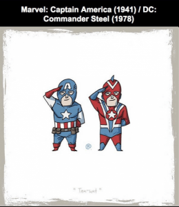 Captain America ve Commander Steel