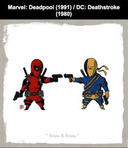 Deadpool ve Deathstroke