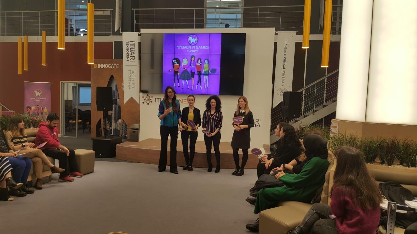 Women in Games Türkiye Yönetim Kurulu