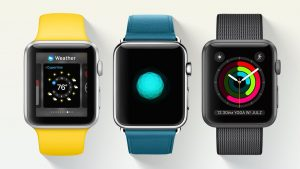 MicroLED Apple Watch