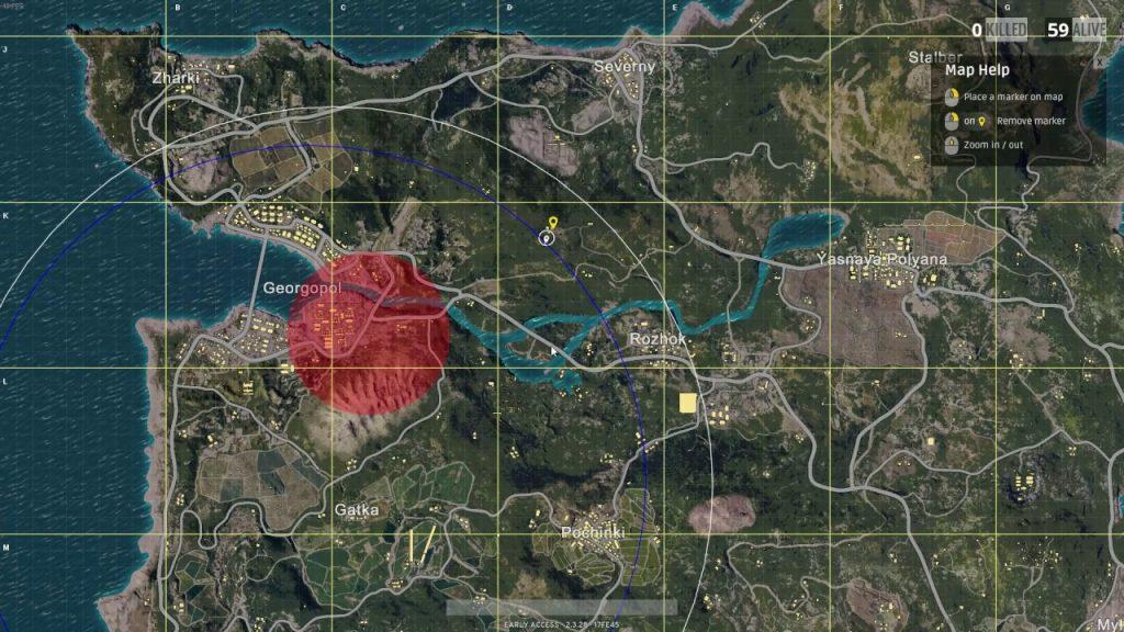 pubg mobile harita