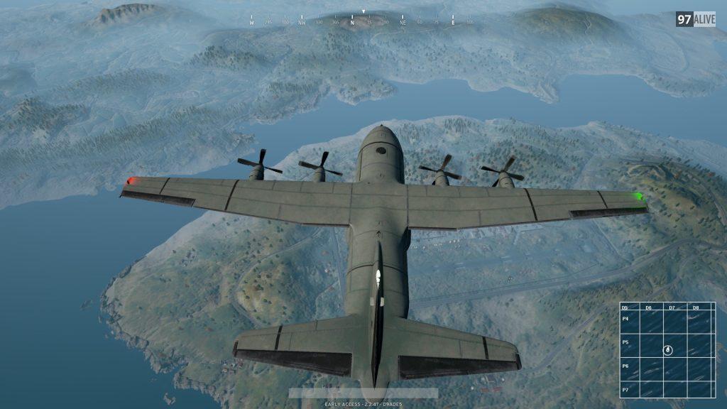 pubg mobile uçak