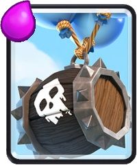 Skeleton Barrel - Clash Royale