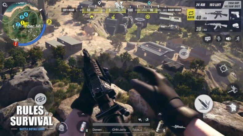 Rules of Survival'a FPS Modu Geliyor!