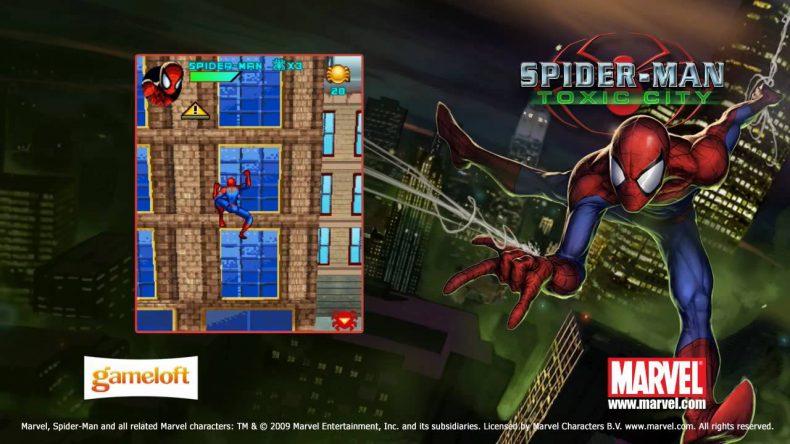 Spider Man Toxic City İlk Nokia Mobil Örümcek Adam