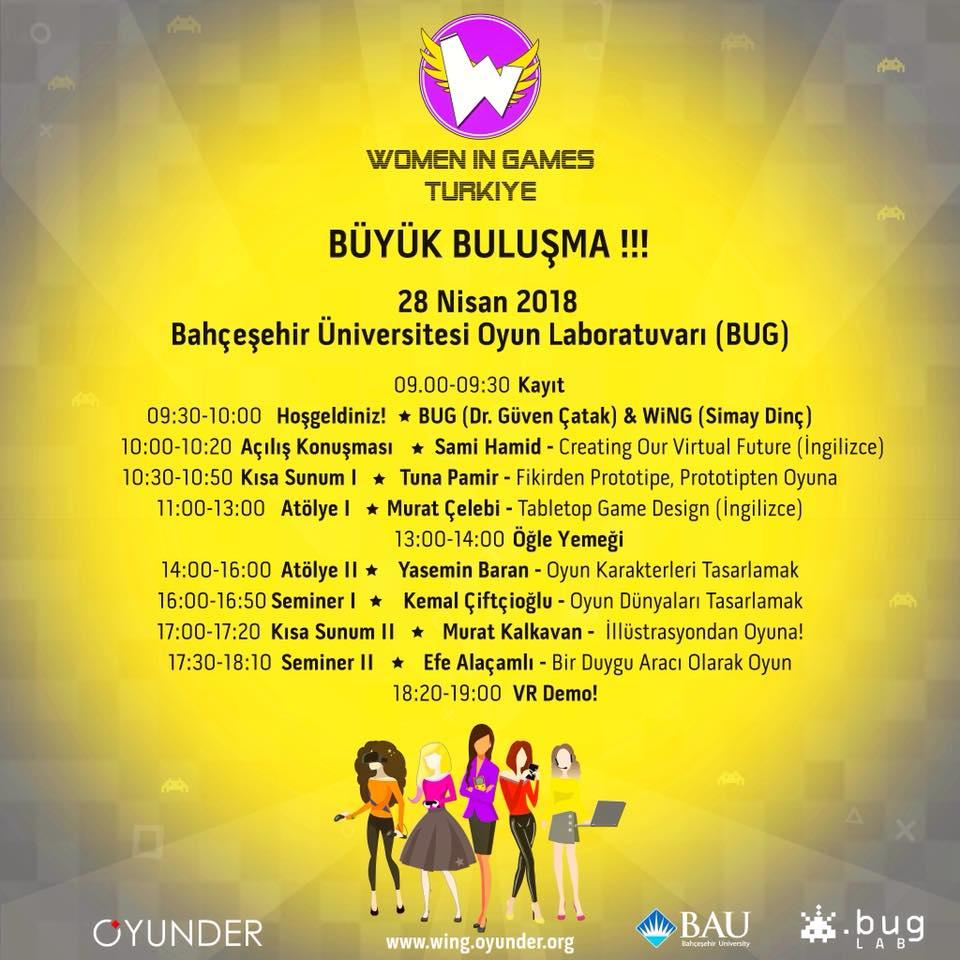 Oyunder Women in Games Türkiye