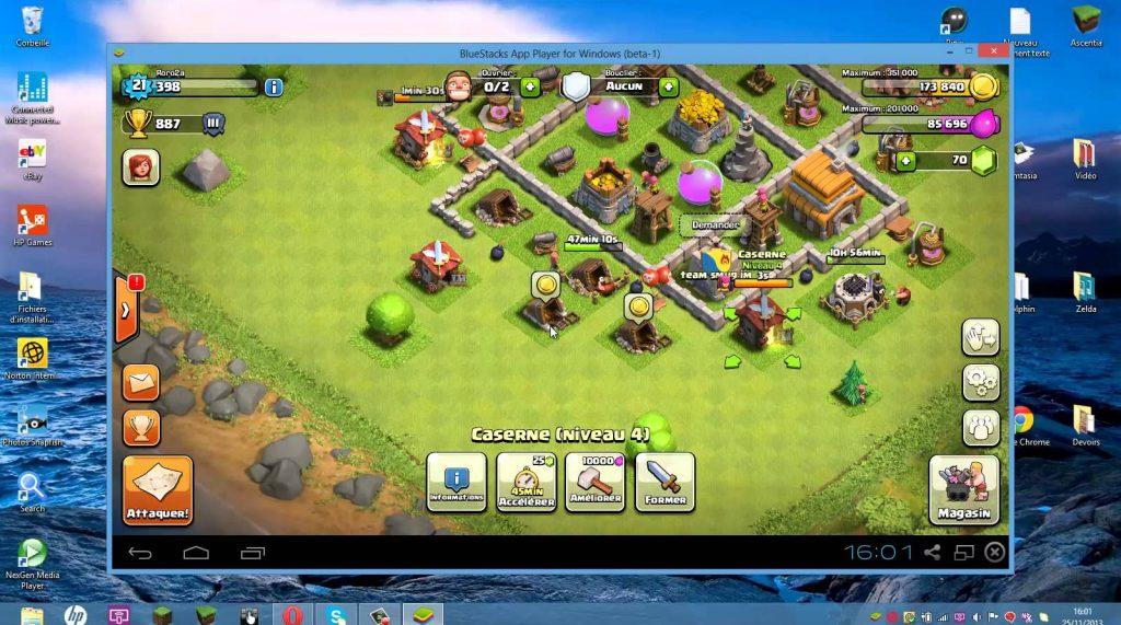 Clash of Clans bilgisayarda oynama