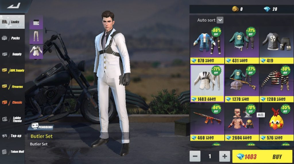 Rules of Survival bedava skin
