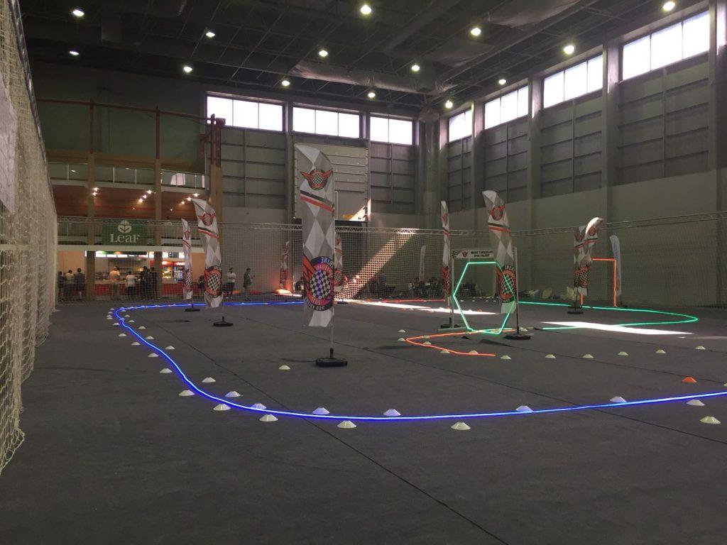 CNR Games Week 2018 Drone Yarış Alanı